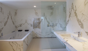 Banheiro em Dekton