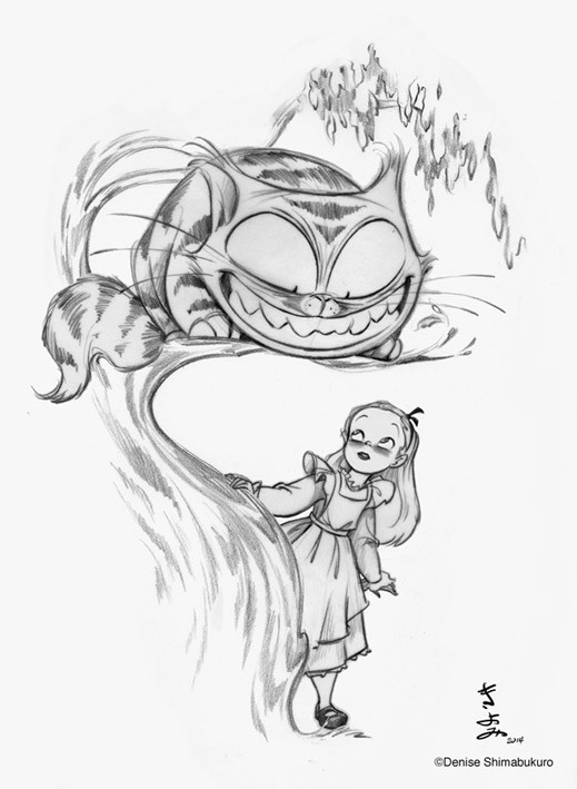 Denishima Designs and the Cheshire Cat