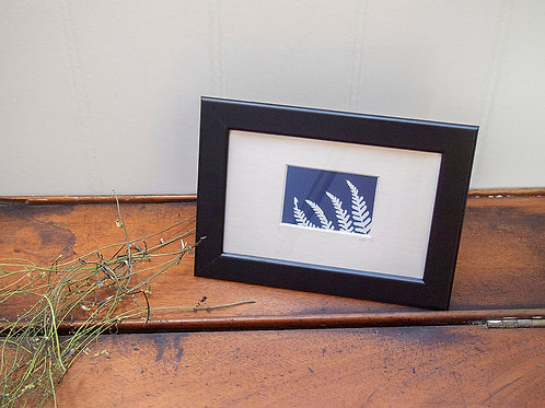 Fern Print - Mounted to A6