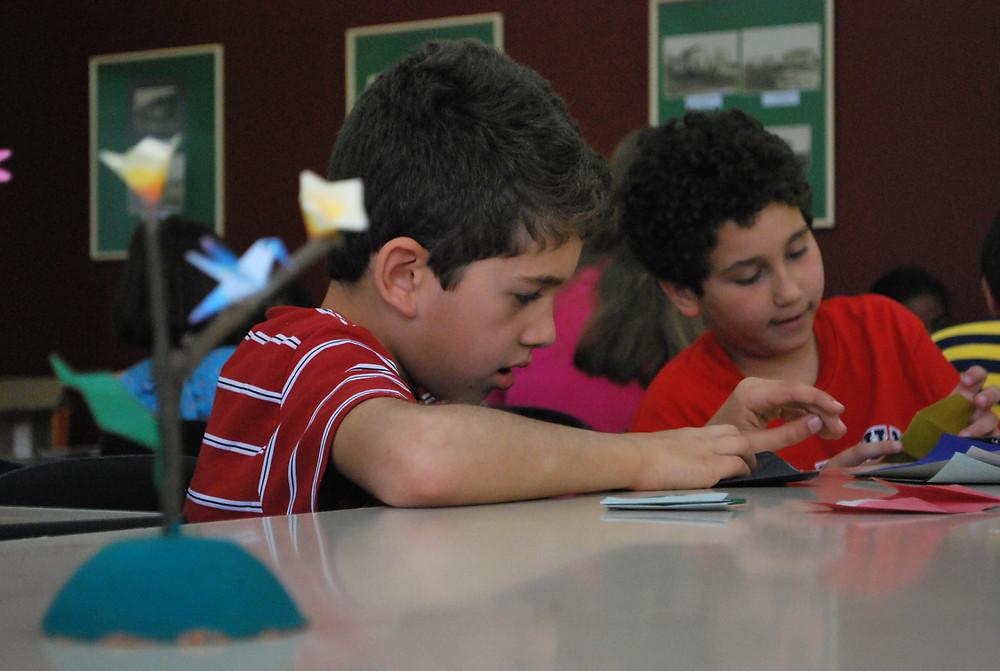 Semana da Criança na Biblioteca Infantil é promovida pela Secretaria da Cultura (Secult). (Foto: Divulgação)