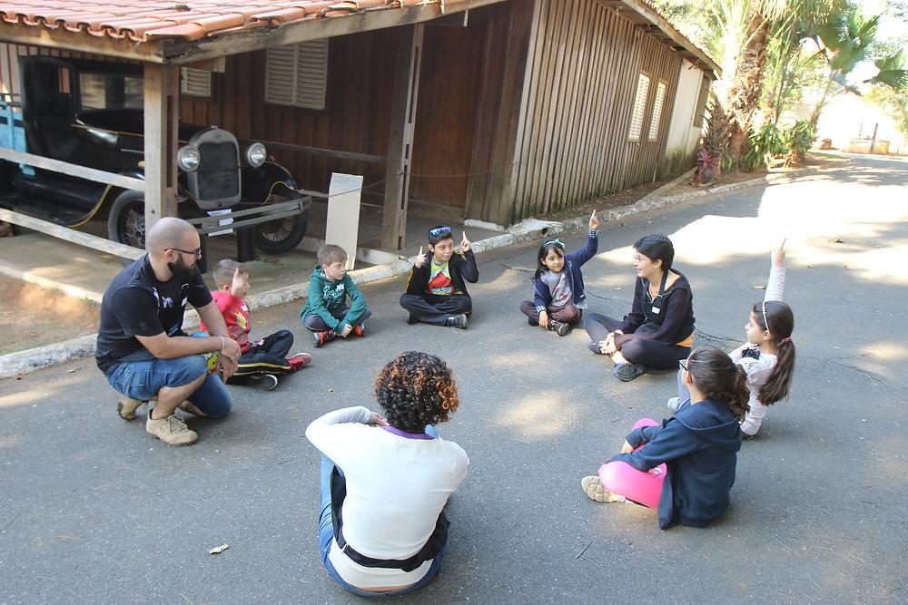 As crianças terão a oportunidade de participar de atividades como queimada, corre cotia, mãe da rua, entre outras brincadeiras antigas. (Foto: Assis Cavalcante)