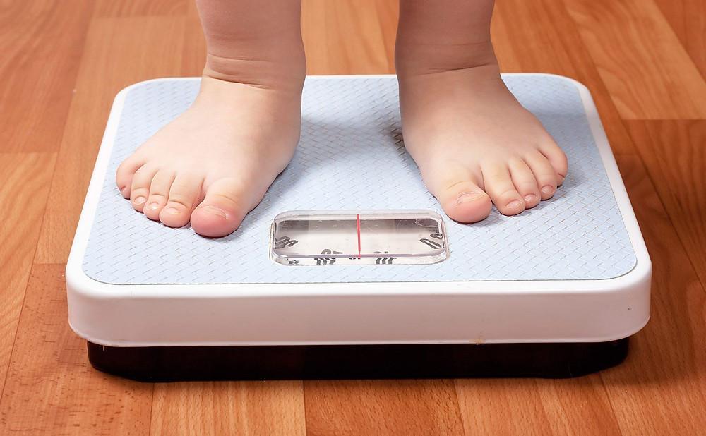 Obesidade infantil.