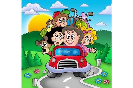 Agora é lei - como carregar crianças no carro
