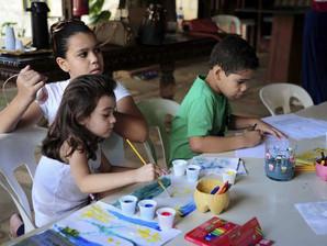 Biblioteca Infantil tem atividades de bem-estar para toda a família