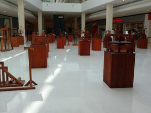 """Exposição """"As Máquinas de Da Vinci"""" segue no Iguatemi até o dia 30 de outubro"""