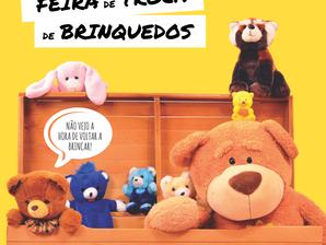 Feira de Troca de Brinquedos no Parque Chico Mendes
