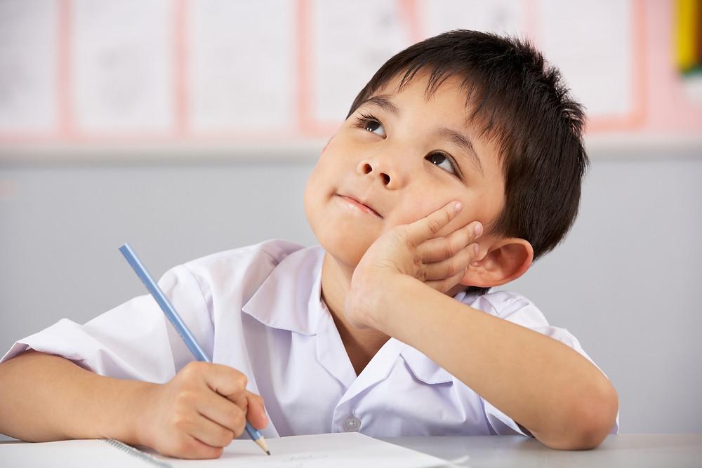 Dislexia na infância.