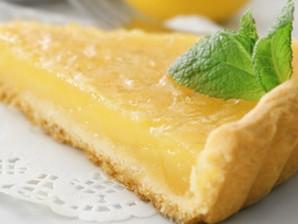 Torta de limão saudável