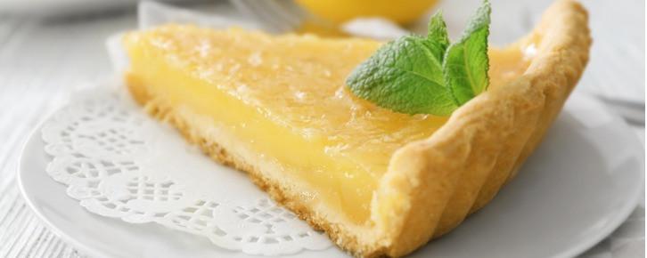 Torta de limão.