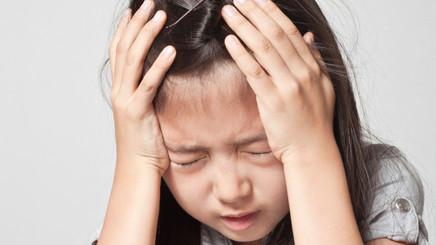 Saiba quais são as causas das dores de cabeça na infância