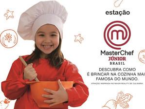 Estação MasterChef Júnior segue até sábado no Iguatemi Esplanada