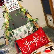 A little Christmas surprise for a Christ