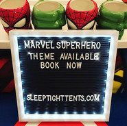 Our Marvel Superhero theme _sleeptightte