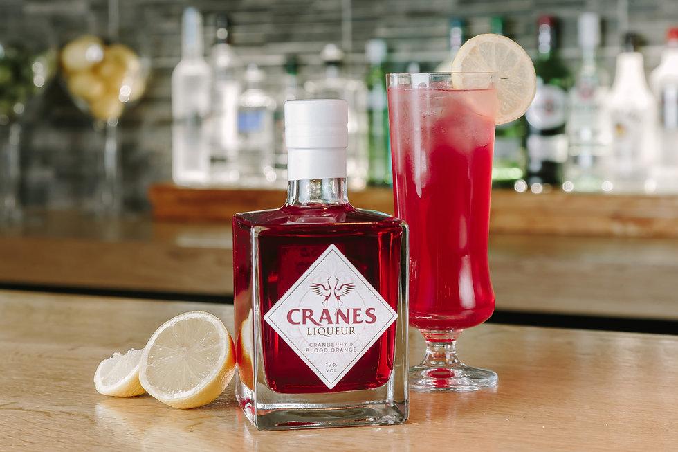 Cranes Liqueur - Lemon Berry Cocktail