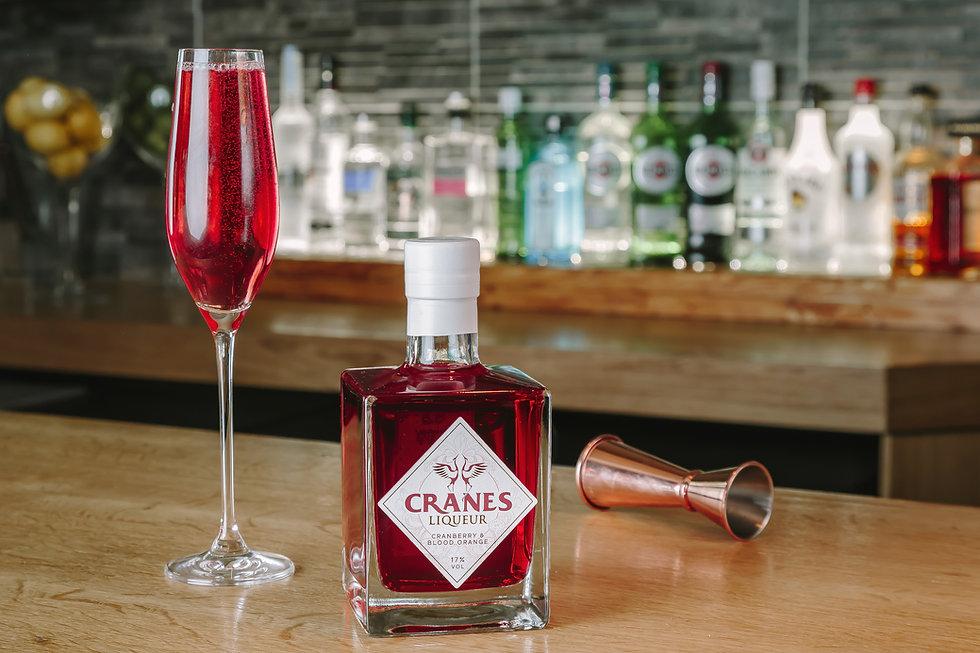 Cranes Liqueur- Cranbllini Cocktail