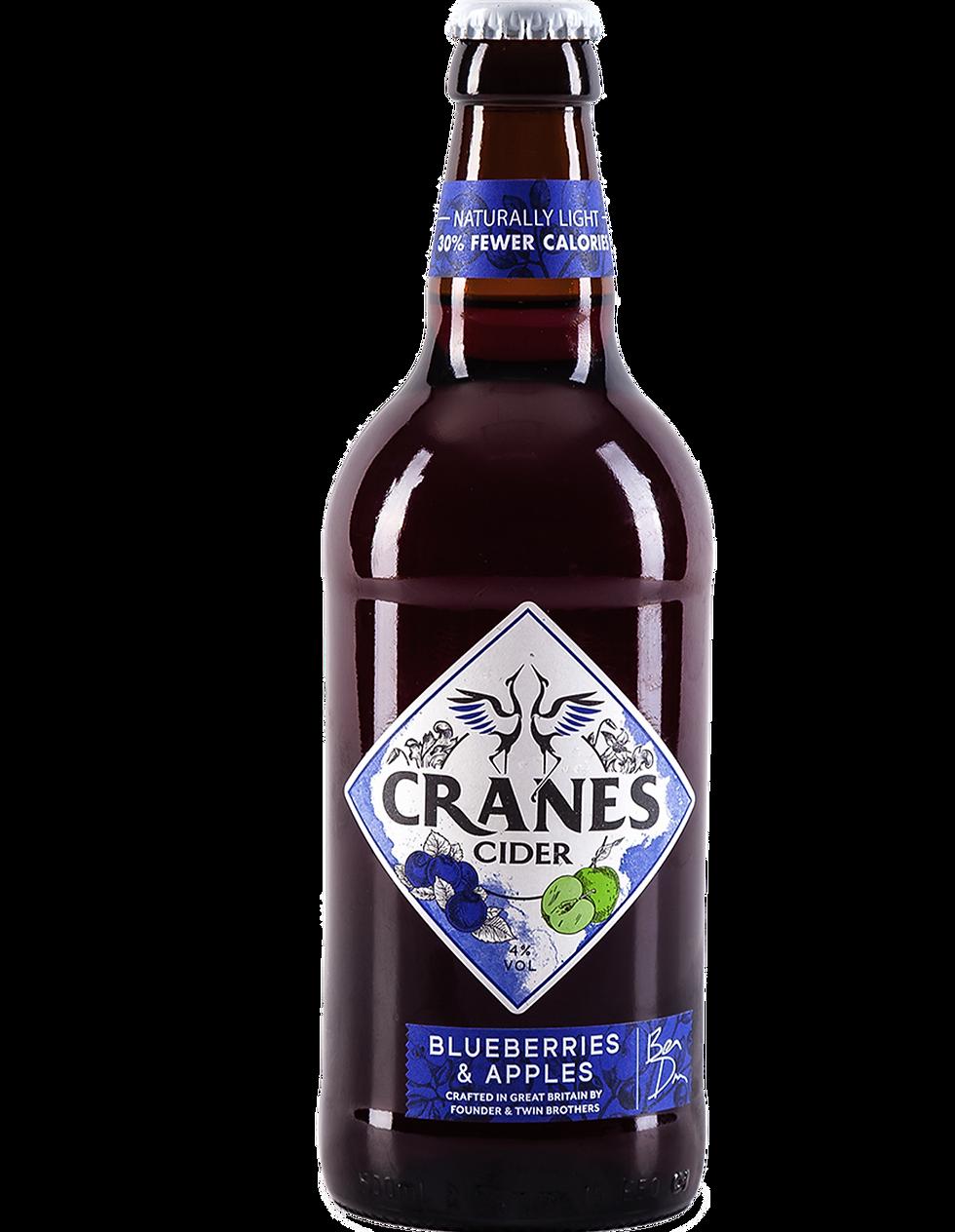 Cranes Blueberres & Apples Cider