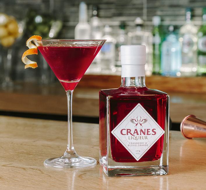 Cranes Liqueur - Cosmopolitian Recipe