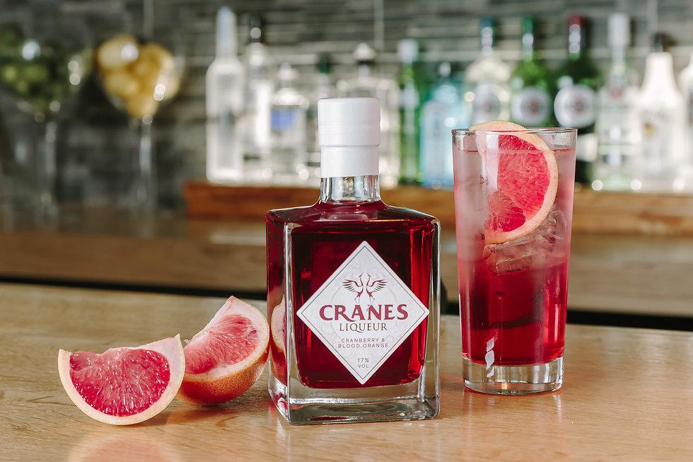 Cranes Liqueur - Shaddock's G&T Cocktail