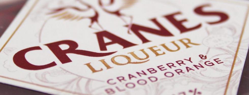 Cranes Cranberry & Blood Orange Liqueur