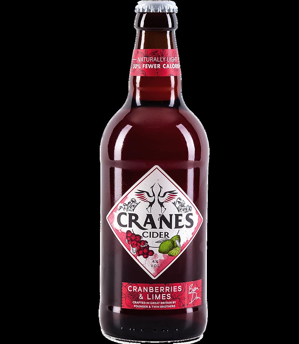 Cranes Cranberries & Limes Cider