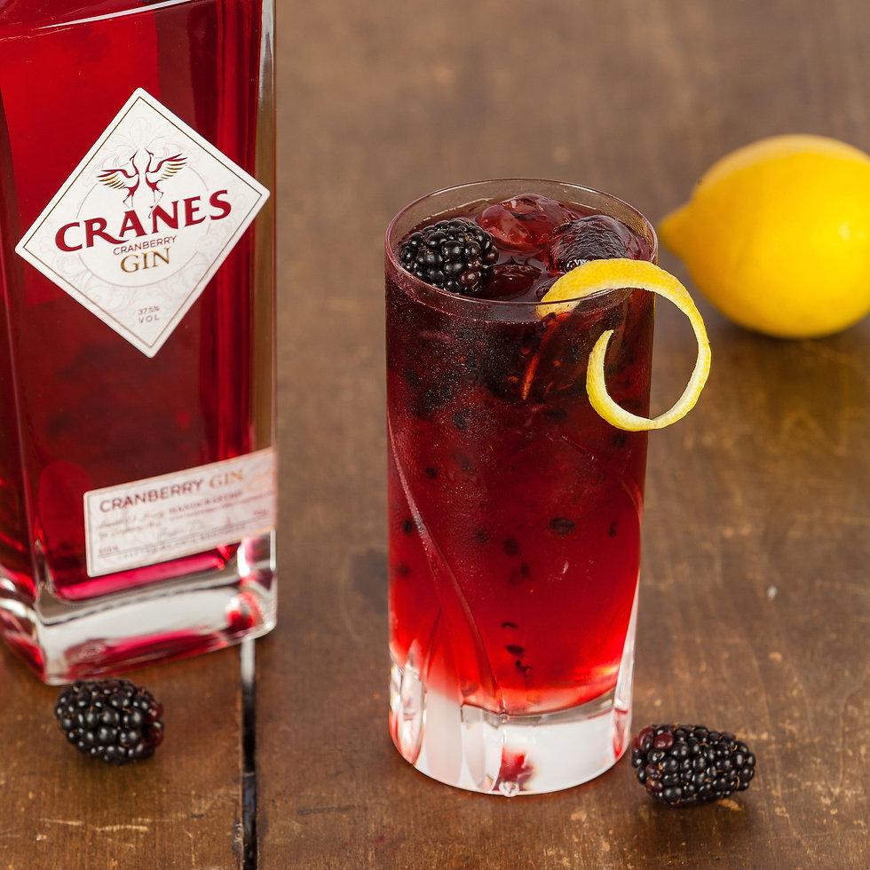 Crans Gin Bramble Cocktail
