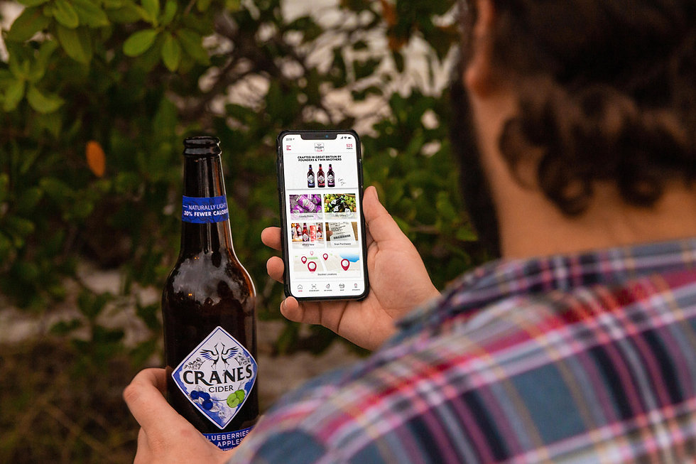 Cranes Cider Club App