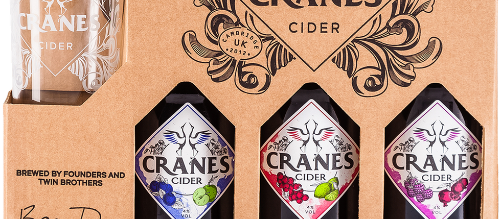 Spoil your dad this Father's Day with Cranes Cider