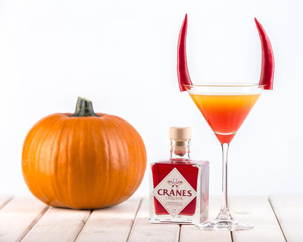 Cranes Liqueur - Halloween Cocktail