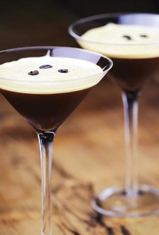 Cranes Liqueur - Espresso Martini Cocktail