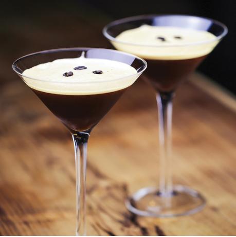Cranes Liqueur -Espresso Martini Cocktail