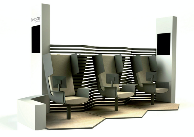 Smart Lounge Concept Black