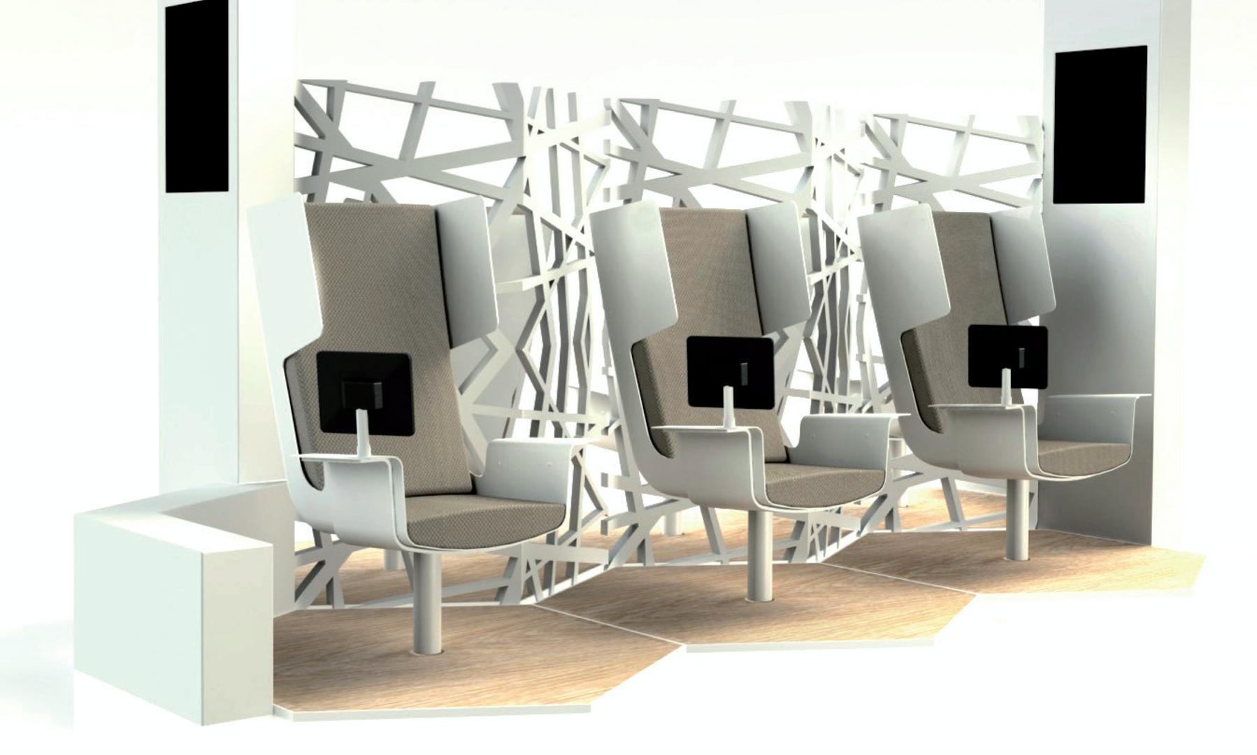 Smart Lounge Concept White
