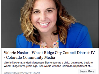 Val Nosler In Wheat Ridge Transcript
