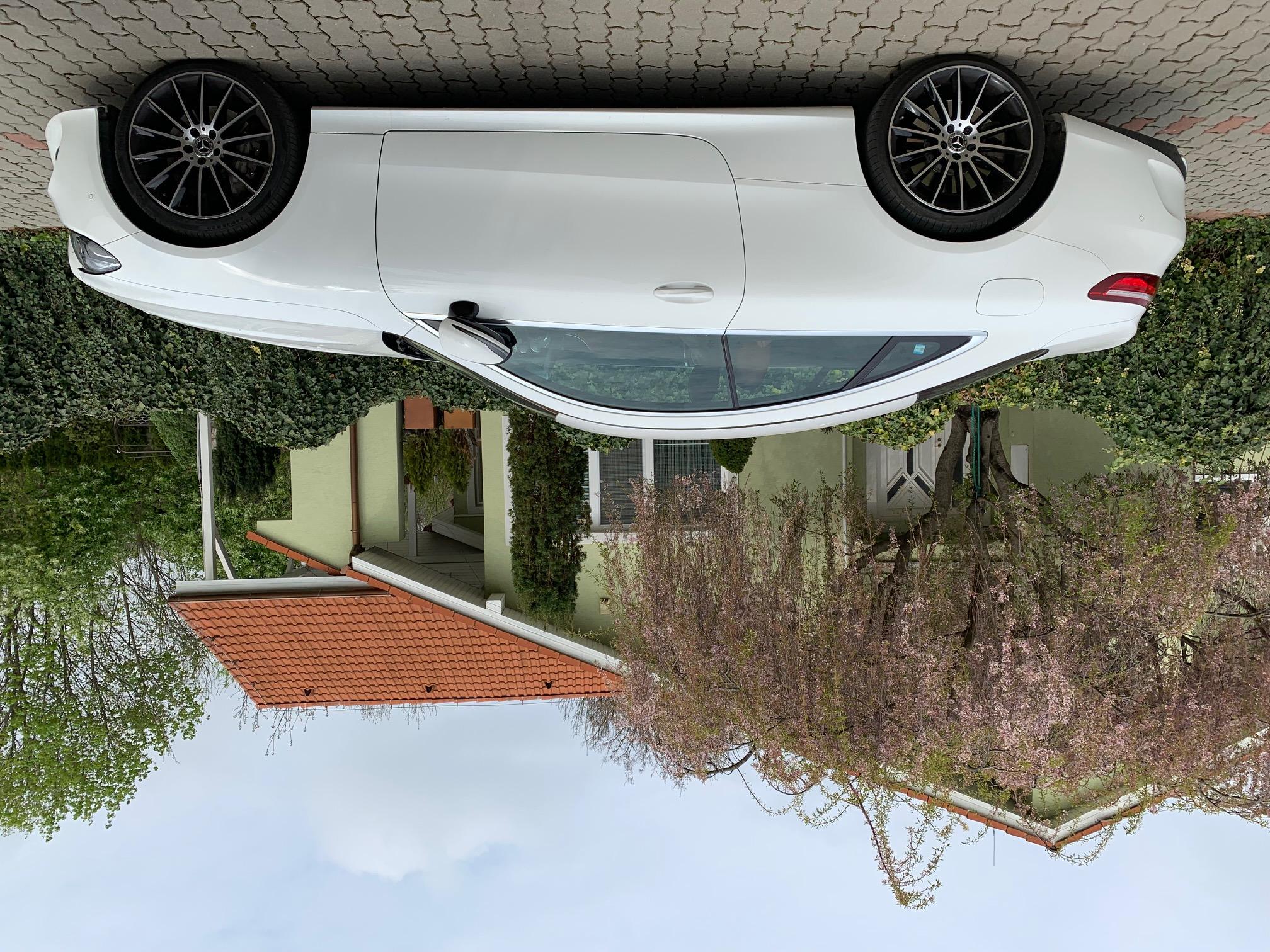 Mercdes-Benz E400 coupe