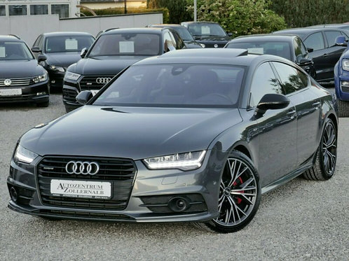 AUDI A7 Competition 240kW RS sedadla