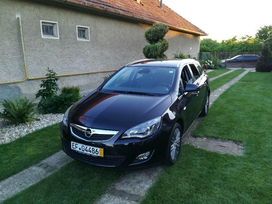Opel Astra 1,4 benzin