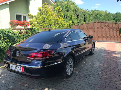 VW cc 2.0l TDI