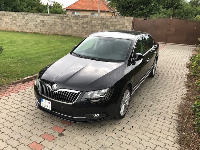 Škoda Superb 2.0 TDI CR Elegance DSG