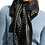 Thumbnail: Laura Classic Black and White Rectangle Scarf