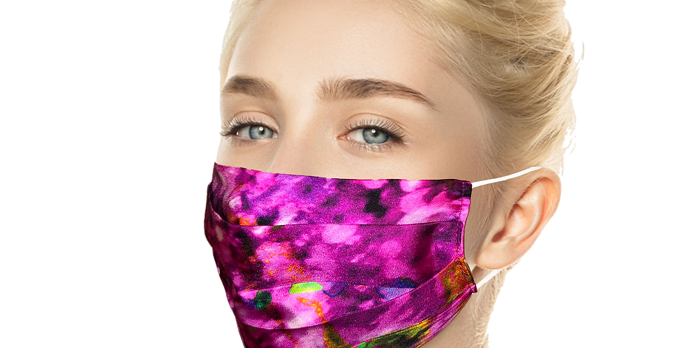 Purple Silk Reusable SilkMask