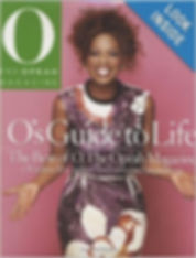 The Oprah Magazine O's guide to life rosemary mahoney cover