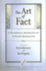 The Art of Fact a historical anthology of literary journalism by Rosemary Mahoney book cover