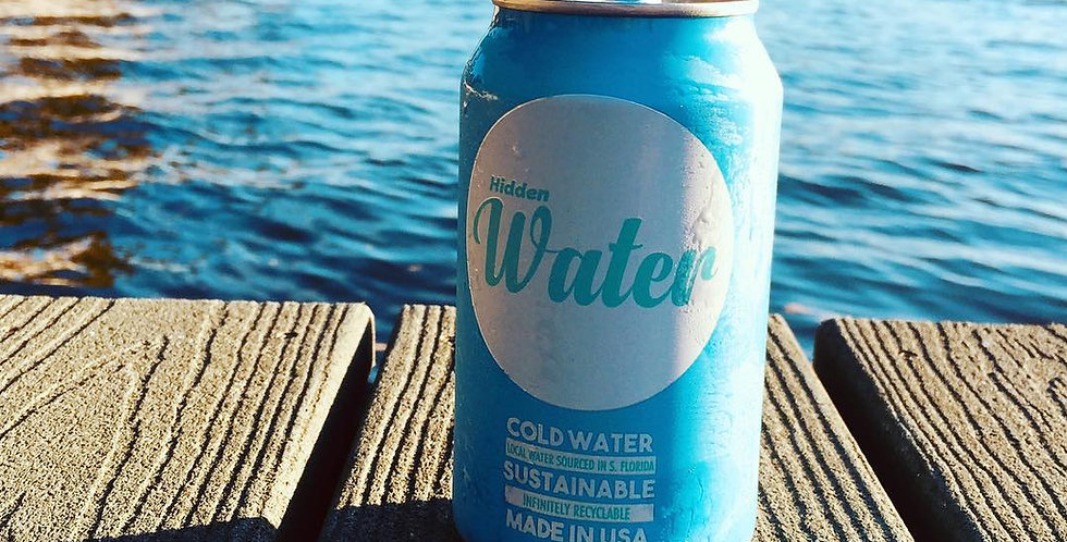 Hidden Water Canned Water