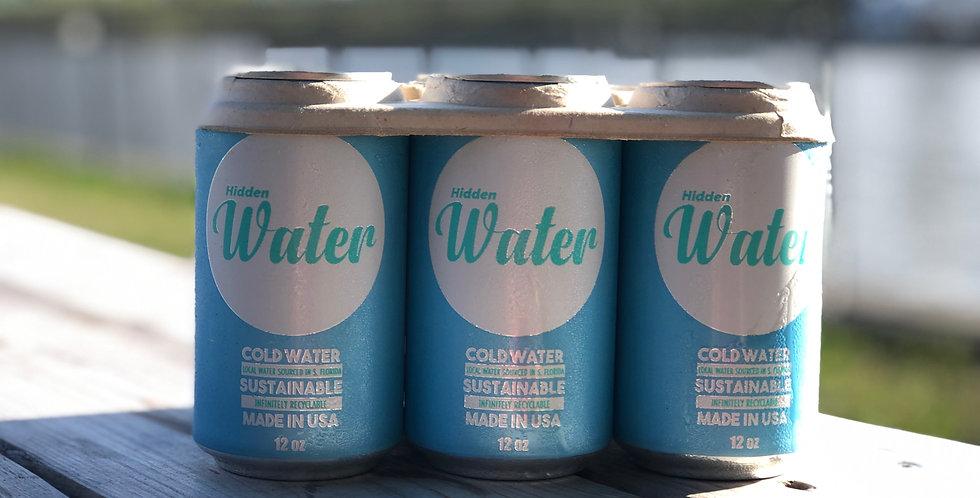 Hidden Water - 6 Pack
