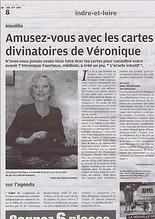 Article Presse Oracle Intuitif de Véronique Faucheux