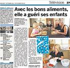 Avec les bons aliments, Claude Berdoz a guéri ses enfants