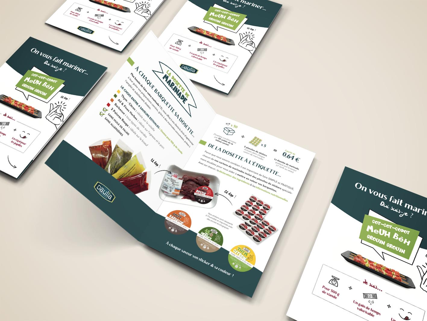 Brochure commerciale 4 pages