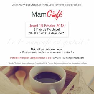 Invitation au prochain Mam'café du Tarn !