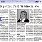 Le parcours d'une maman courage, Claude Berdoz