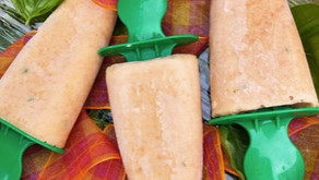 Glace aux abricots & basilic...